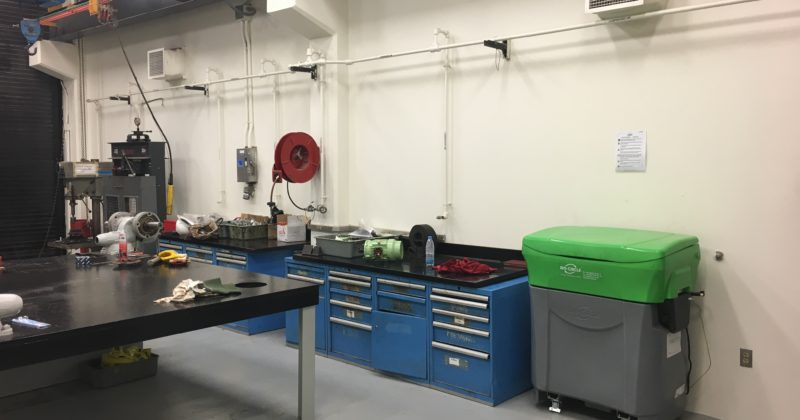 Equipping Aramco workshops with Bio-Circle parts washers